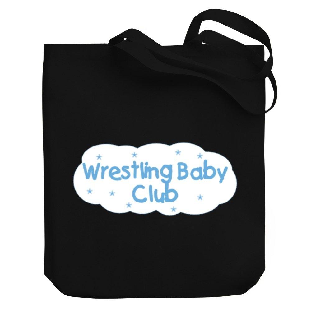 Teeburon Wrestling BABY CLUB Canvas Tote Bag by Teeburon