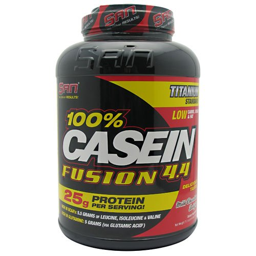 SAN 100% Casein Fusion Milk Chocolate Delight 4.44 lbs Review