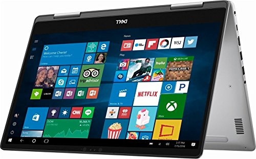 2018 Newest Dell 15 7000 Series 15.6 inch 2-in-1 FHD Touchscreen Laptop, Intel Quad-Core i5-8250U 1.6GHz (Beat i7-7500U), 8GB DDR4, 2TB HDD, 802.11AC, Backlit Keyboard, MaxxAudio Pro, Win 10