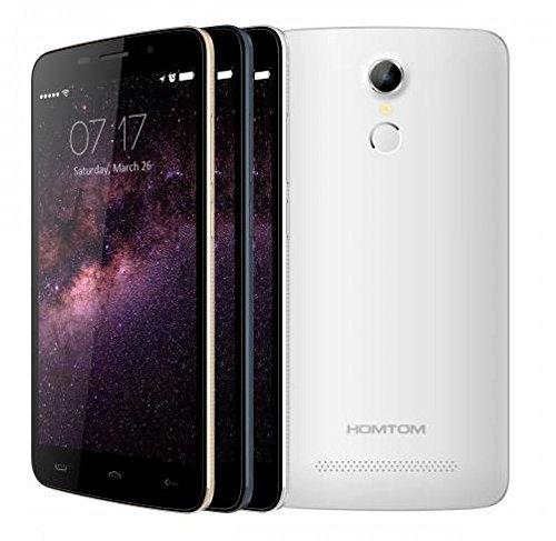 HOMTOM-HT17-Android-60-Smartphone-4G-55-pulgadas-HD-de-reconocimiento-de-huellas-digitales-de-64-bits-MTK6737-Quad-Core-de-79-mm-de-espesor-blanco