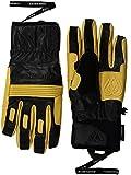 Quiksilver Snow Men's Travis Rice Natural Gore-tex (tm) Snowboard Ski Gloves, black, L