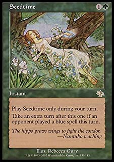 carpet of flowers mtg. magic: the gathering - seedtime judgment carpet of flowers mtg s