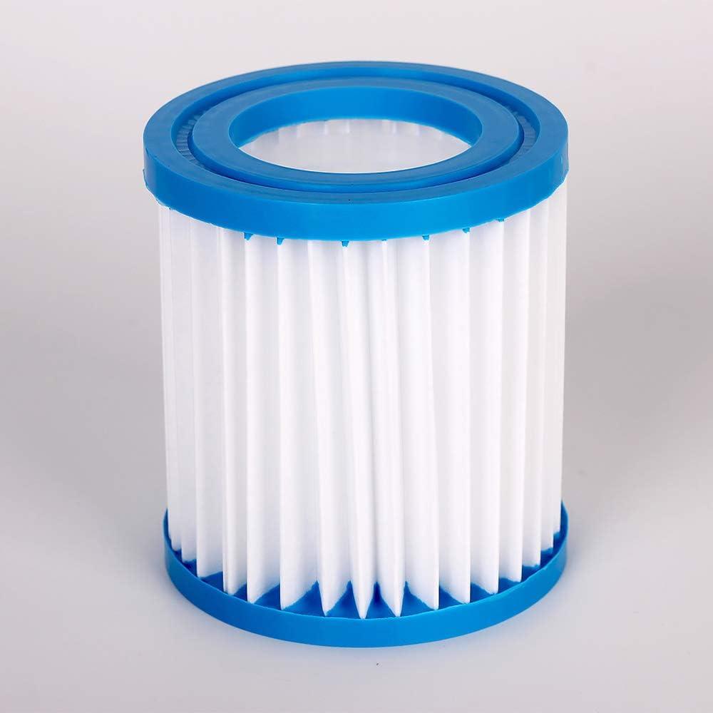 Leise Filteranlage Gecheer Schwimmbadpumpe Filterpumpe Umw/älzpumpe,Entw/ässerungspumpe,Poolpumpe 15W Filterpumpe Umw/älzpumpe Kartuschenfilteranlage Mit Filterbildschirme