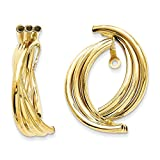 Top 10 Jewelry Gift 14k Polished Fancy Earring Jackets
