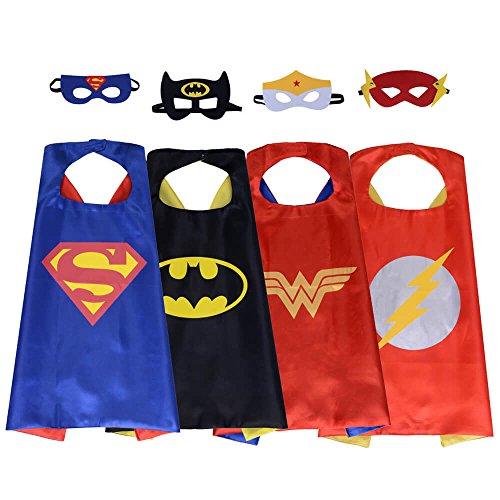 Review Halloween Costume Superhero Dress