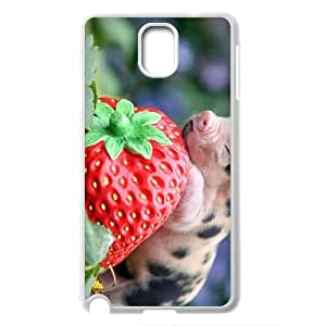 Cute pet baby pig Hard Plastic phone Case Cover For Samsung Galaxy NOTE 3 Case XFZ397362