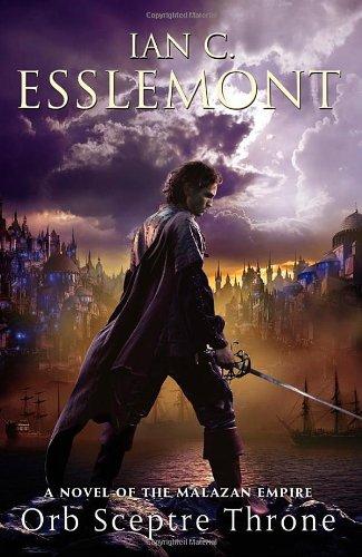 """""""Orb Sceptre Throne - A Novel of the Malazan Empire"""" av Ian C. Esslemont"""