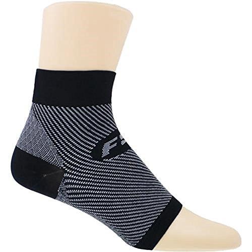 Feetures Plantar Fasciitis Sleeve Sock, Medium, Black