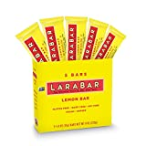 Larabar Gluten Free Bar, Lemon, 1.6 Ounce Bars (5 Count)