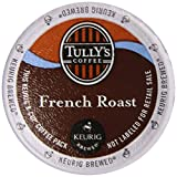 Tullys Coffee Dark Roast, French Roast, 12 ct K, Cups for Keurig Brewers