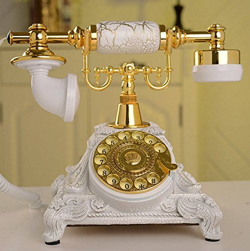 French Style Phone - USA Antique Rotary Phone Old Fashioned Telephone Princess French Style Vintage