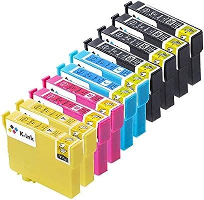 Reemplazo de Cartuchos de Tinta compatibles K-Ink para Epson 18XL ...