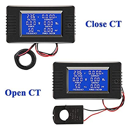 Multimet - Pzem 022 Ac Digital Display Multimeter Power Monitor