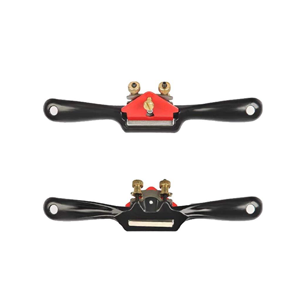 SpokeShave ajustable con base plana, hoja de metal, herramienta de ...
