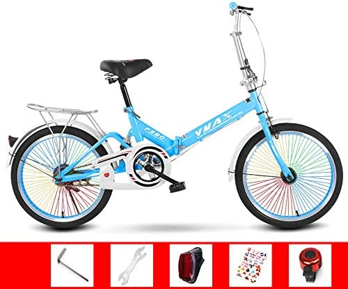 SYLTL Folding Bike Adecuado para Altura 120-180 cm Unisex Portátil ...