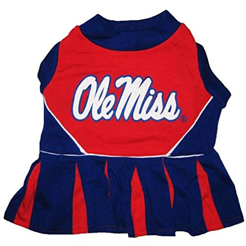 Pets First Mississippi University Dog Cheerleader Outfit, ()