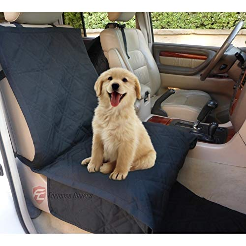 Best Dog Car Seat >> Amazon Com Deluxe Quilted And Padded Dog Car Single Seat Cover With