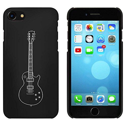 Noir 'Guitare' étui / housse pour iPhone 7 (MC00056803)
