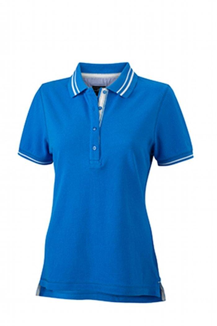 James /& Nicholson Poloshirt Ladies Lifestyle Polo para Mujer