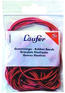 1kg Gummibänder Gummiringe rot Breite=1mm Ø=70mm