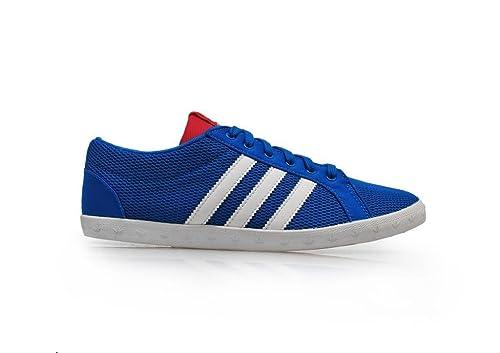 Adidas Q33737 - Zapatillas de Deporte para Mujer (Talla 36/EUR40), Color Azul: Amazon.es: Zapatos y complementos