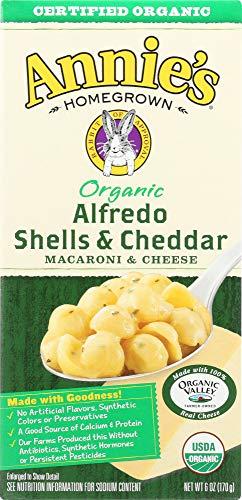 Annie's Homegrown (NOT A CASE) Organic Alfredo Shells & Cheddar