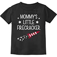 Mommy's Little Firecracker Cute 4th of July Toddler/Infant Kids T-Shirt