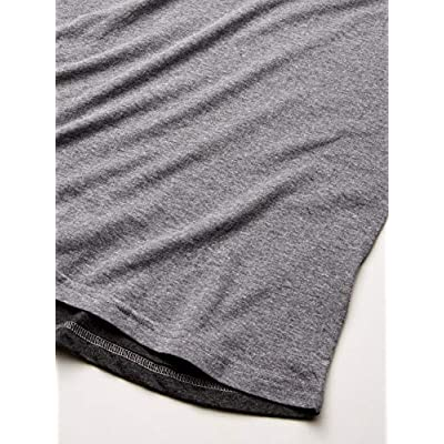 AquaGuard Men's Marky G Apparel Forward Shoulder T-Shirt (3 Pack) Fine Jersey, Gran Heather/Vn, 2X-Large | .com
