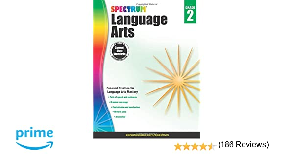 Spectrum Language Arts, Grade 2: Spectrum: 9781483812083: Amazon ...