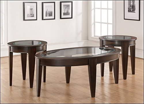 Lane Home Furnishings Oval Cocktail Table, Merlot