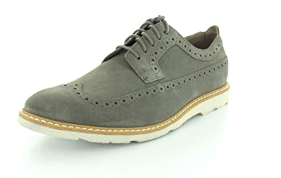 CLARKS Mens Gambeson Dress Sage Oxford - 9