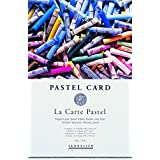 Sennelier Le Carte 6 Colour Pastel Pad 40cm x 30cm - 12 sheets