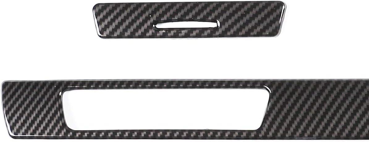 3*Carbon Fiber ABS Copilot Cup Holder Cover for BMW 3 Series E90 E92 E93 2005-12