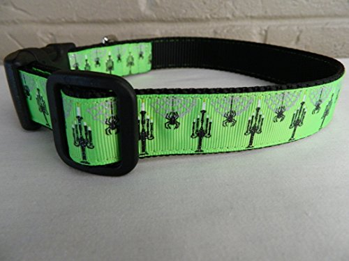 Schmoopsie Couture Halloween Spooky Candelabra Dog Collar (Extra Large (20