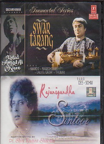 Swar Tarang - Sarod By Ustad Amjad Ali Khan / Rajni Gandha -Santoor By Pt Shiv Kumar Sharma [Dvd] Immortal Series