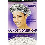 Annie Conditioner Cap Silver Extra Large #4445