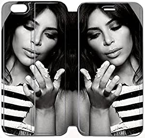 6 Plus 5.5 Inch Cover,[Pu Leather Cover] Kim Kardashian Theme New iPhone 6 Plus 5.5 Inch Case Cover KS4821