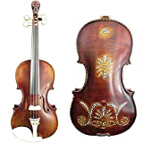 SONG Brand professional concert violin 4/4 carved old man neck perfect sound #11012