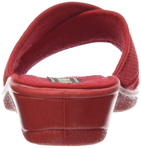 Rondinaud D-e17-valliere - Mules Mujer Rouge (Rouge)