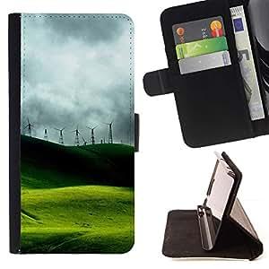 Momo Phone Case / Flip Funda de Cuero Case Cover - Naturaleza Hermosa Forrest Verde 47 - LG Nexus 5 D820 D821