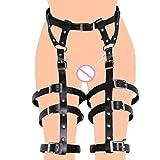 SM Harness Stud Punk Gothic Garter Belt BDSM Slave Waist Leg Cincher Belt Thigh Belt
