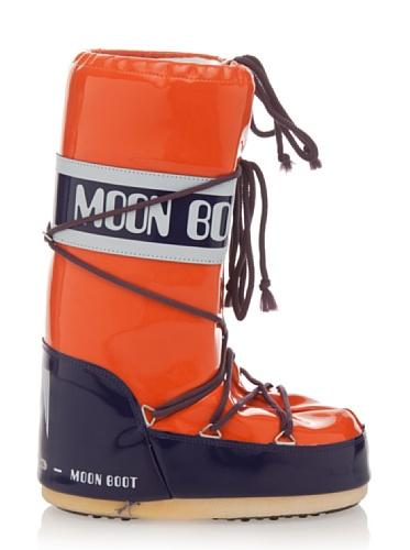 Arancione Blu Stivali Moon adulto Unisex Boot Vinil w1XSzqqpf