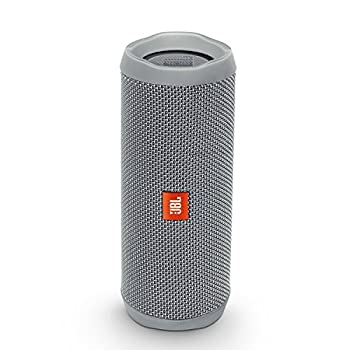Jbl Flip 4 Waterproof Portable Bluetooth Speaker (Gray) 0