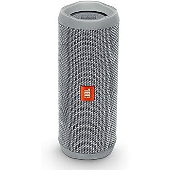 JBL Flip 4 Waterproof Portable Bluetooth Speaker (Gray)
