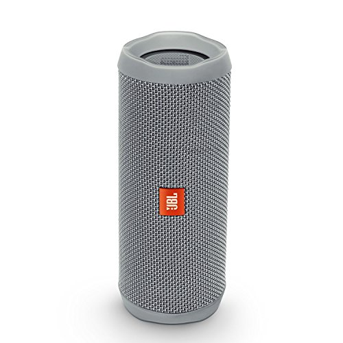 JBL Flip 4 Waterproof Portable Bluetooth Speaker (Gray), Medium
