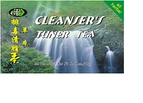 GoTo Tea Cleanser's Tuner Tea (20 Tea Bags) 2-Pack