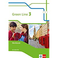 Green Line 3: Workbook mit 2 Audio-CDs Klasse 7 (Green Line. Bundesausgabe ab 2014)