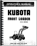 Kubota BF900 Loader Attachment for L3750, L4150 Tractor Operators Manual