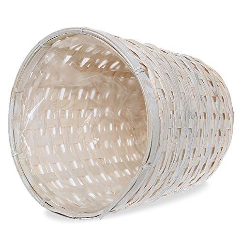 [해외]화이트 워시 파종기 바구니/White Wash Planter Basket