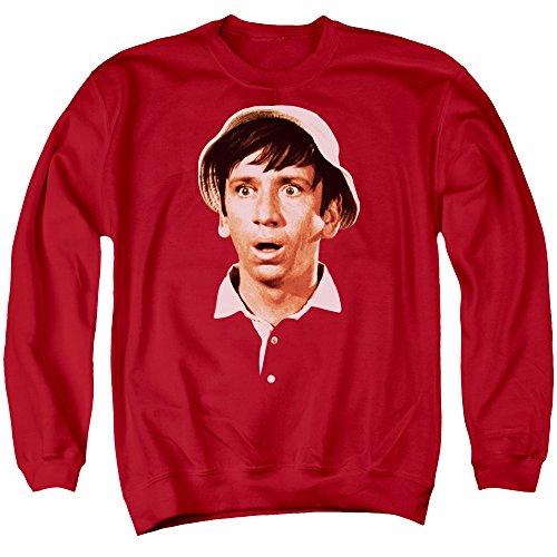 Gilligans Island - Gilligans Head Adult Crewneck Sweatshirt